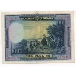 ESPAGNE 100 Pesetas 15 Aug 1928 Pick 76a