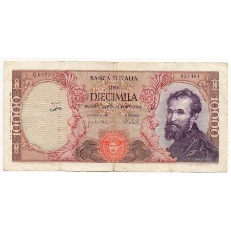 ITALIE 10000 LIRE 27 Nov 1973 Crap 80/579