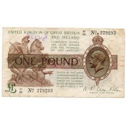 ROYAUME UNI 1 Pound 1922-1923 Pick 359b