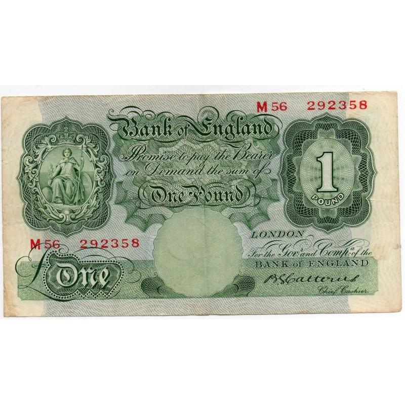 ROYAUME UNI 1 Pound 1929-34 Pick 363b