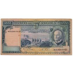 Angola 1000 Escudos 10 Jun 1970 Pick 97a