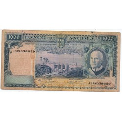 Angola 1000 escudos 10 Jun 1970 Pick pick 97a