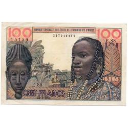 États de l'Afrique de l'ouest 100 Francs 23/04/59 00:00 Pick 2a