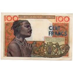 États de l'Afrique de l'ouest 100 Francs  1954 Pick 2a