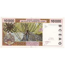 États de l'Afrique de l'ouest / Côte d' Ivoire 10000 Francs 2000 P 114 Ai