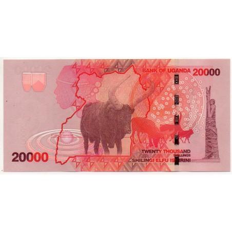 Ouganda 20000 Shillings 2010
