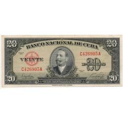 Cuba 20 Pesos Pick 80a