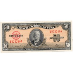 Cuba 50 Pesos Pick 80b