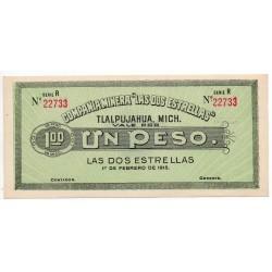 Mexico dos estrellas 1 Peso