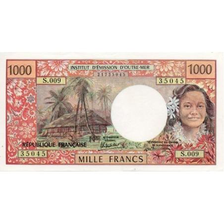 Tahiti 1000 Francs 1985 Pick 27d