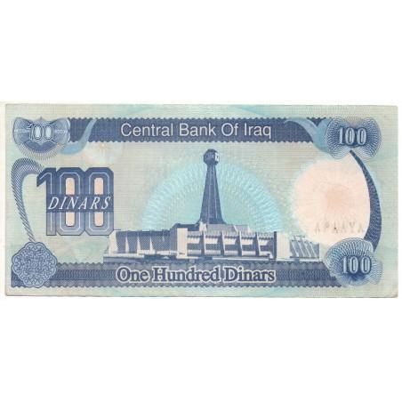 Irak 100 Dinars 1992 Pick 84