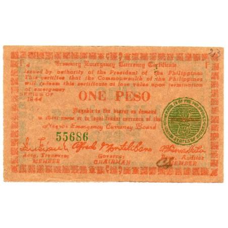 Philippines 1 Peso 1943