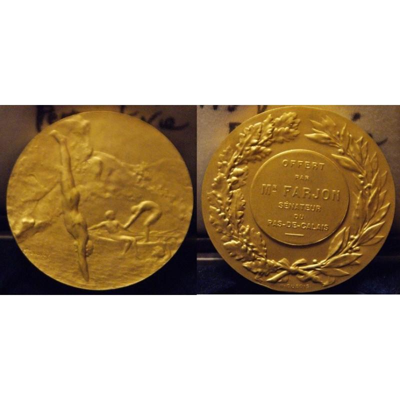 Medaille de Natation Offert pa le Senateur du Pas-de-Calais