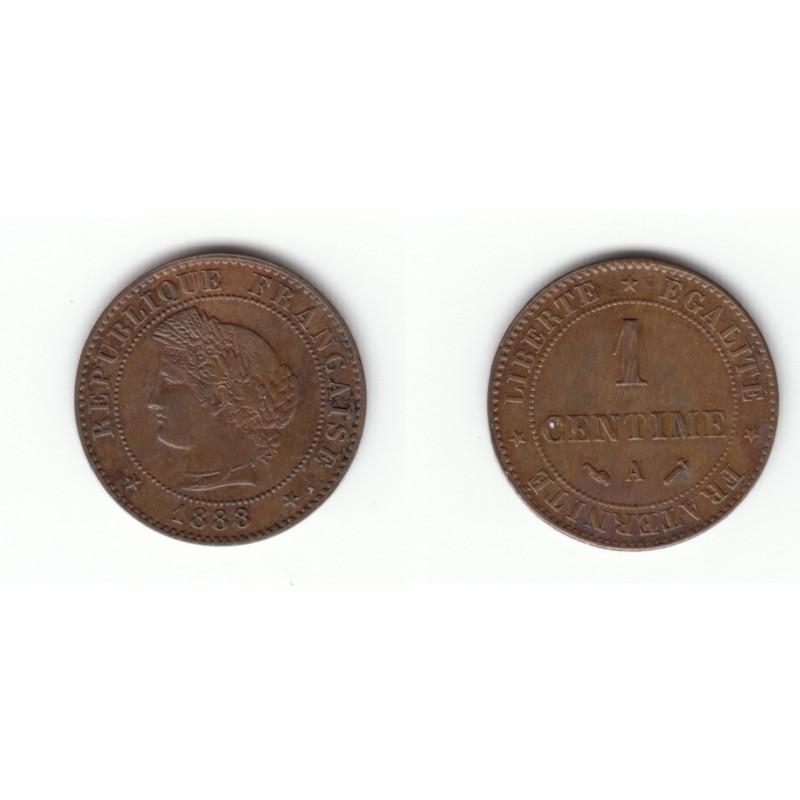 1 CENTIME CERES 1888 A   DV1C0013
