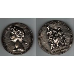 Medaille Education Nationale M. DEMIZEL Peintre Sculteur