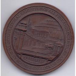 MEDAILLE ECOSSE ALBERT EDWARD PRINCE 1874