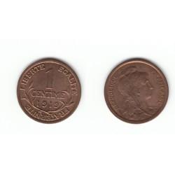 1 CENTIME DANIEL-DUPUIS 1919 SPL 1C0018