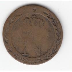 "10 CENT. A L'""N"" COURONNEE, 1808 BB TB+ 10C001"