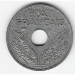20 CENTIMES TYPE 20  1944  TB   DV20C023