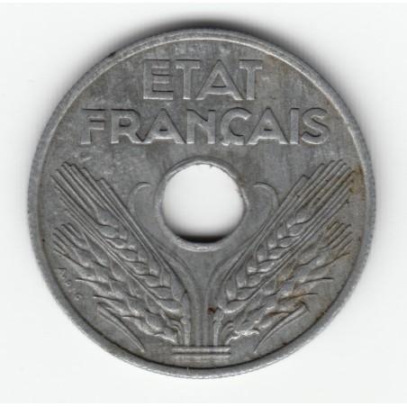 20 CENTIMES TYPE 20  1944   TTB   20C025
