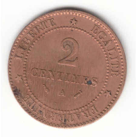 2 CENTIMES CERES 1896 A TB  DV2C0010