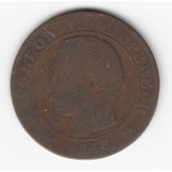 5 CENTIMES NAPOLEON III, TETE NUE 1853 B B DV5C0012