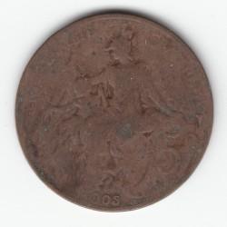 5 CENTIMES DANIEL-DUPUIS 1905 TB DV5C0047