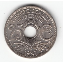 25 CENTIMES LINDAUER 1917 SPL 25C020