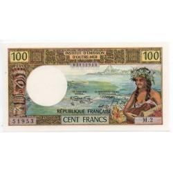 Nouvelle Calédonie 100 Francs 1971 Pick 63a