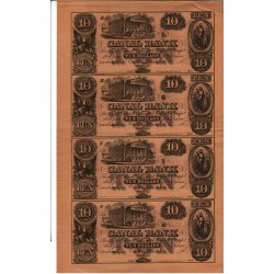 lot de 10, 20, 50, 100 $ New Orléans Canal Bank (16 billets)