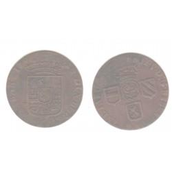 Spanish Netherlands Namur 1 Liard 1710