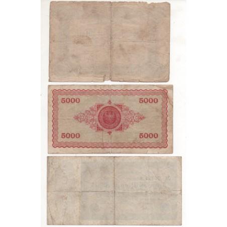 NOTGELD - AACHEN - 3 different notes - 1923 (A002)