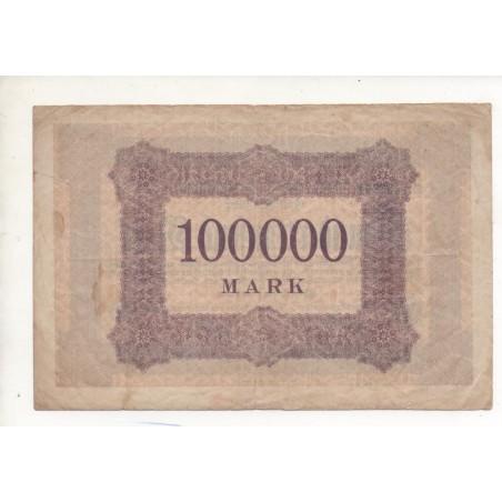 NOTGELD - AACHEN - 100.000 mark - 1923 (A010)