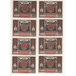 NOTGELD - DELMOLD - 25 notes 50 pfennig - VARIANTE (D013)
