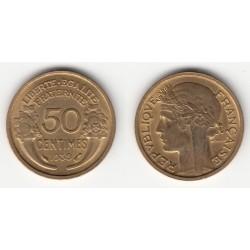 50 CENTIMES MORLON 1939 SUP 50C028