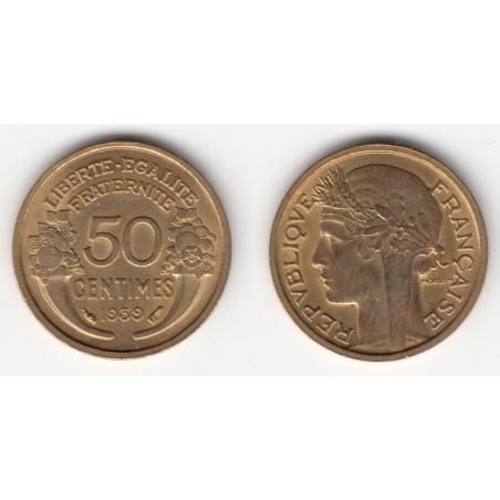 5 x 50 CENTIMES MORLON    1939  SUP+
