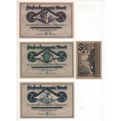 NOTGELD - DORMUND HÖRDE - 13 different notes (D043)