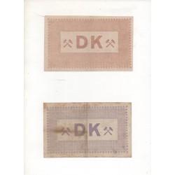 NOTGELD - DUISBURG - 10 different notes (D062)