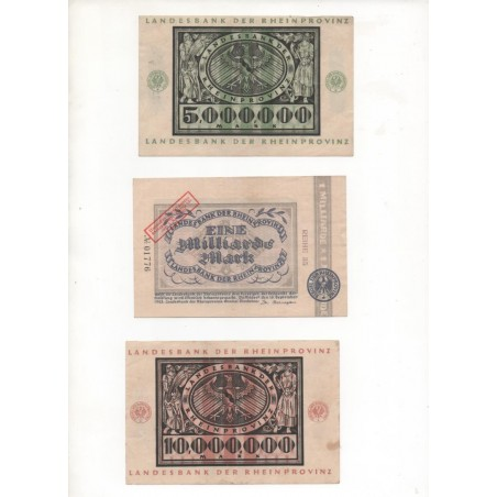 NOTGELD - DUSSELDORF - 11 different notes - (D079)