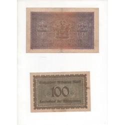 NOTGELD - DUSSERDORF - 10 different notes (D080)