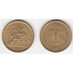 1 FRANC CHAMBRE DE COMMERCE 1920 SUP 1F029