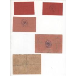 NOTGELD - ERGOLDSBACH - 5 & 25 & 50 pfennig (E054)