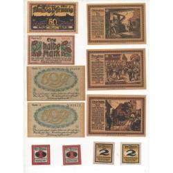 NOTGELD - FREIBERG - 28 different notes - VARIETES (F045)
