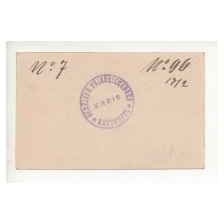 NOTGELD - FRIEDRICHSDORF - 1 mark - TRES RARE (F054)