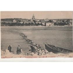 CPA ( 07) BOURG-SAINT-ANDEOL - Vue Generale et le Rhone