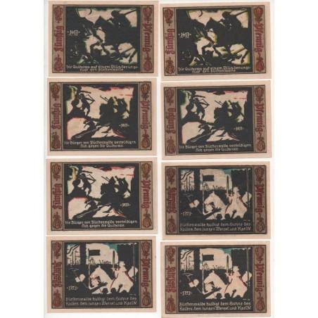 NOTGELD - FURSTENWALDE - 27 different notes - 1923 (F081)