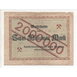 NOTGELD - GELSENKIRCHEN - 2 millionen mark (G017)