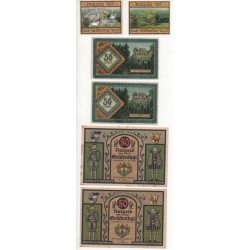 NOTGELD - GRAFENTHAL - 6 different notes - without numbers (G080)