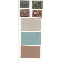 NOTGELD - GRIMMU - 7 different notes -1917-1920 (G095)