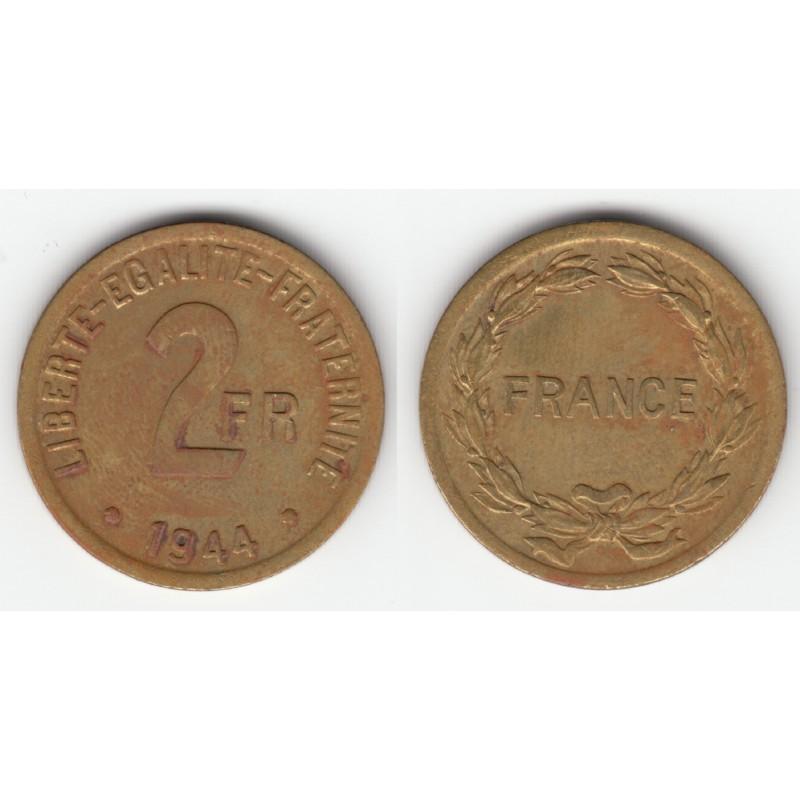 Acheter monnaie 2 francs france libre 1944 ttb 2f056 for Chambre de commerce des bois francs